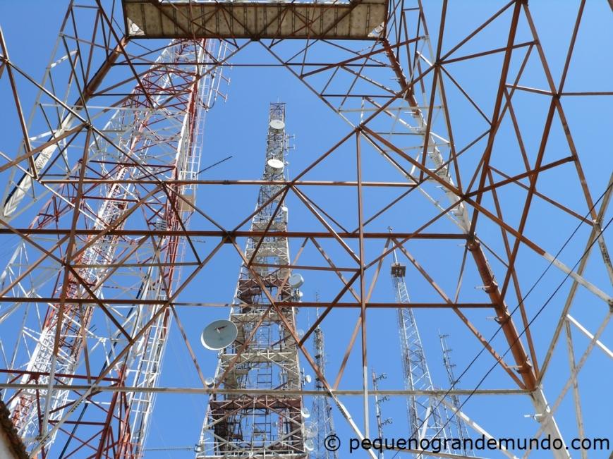 Antenas e torres no Sumaré