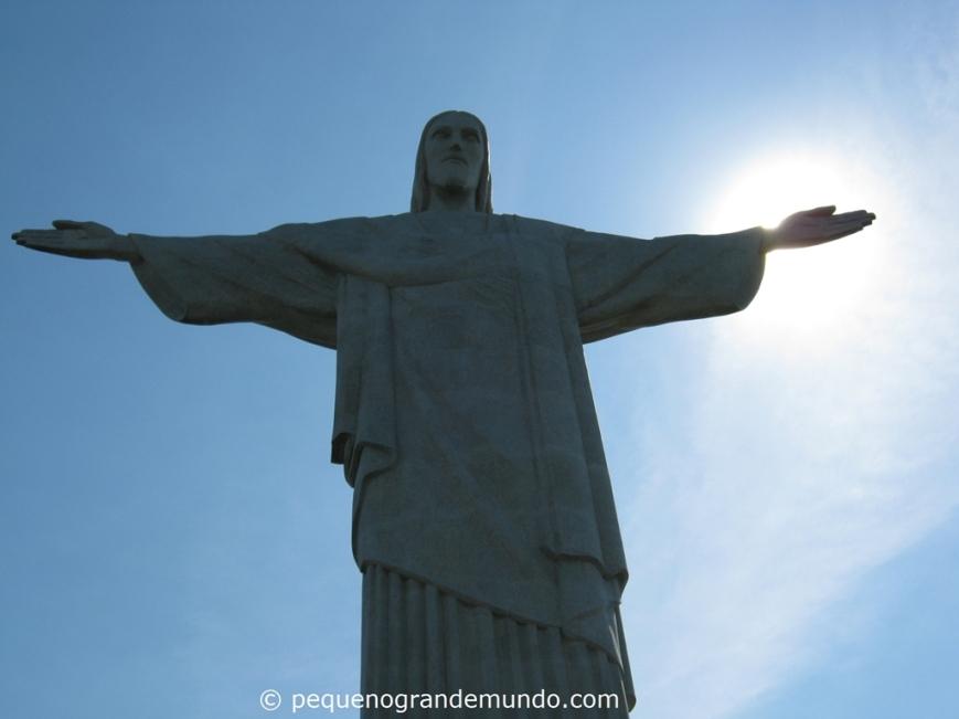 Cristo Redentro, no Corcovado.