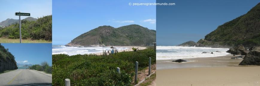 Praias de Grumari e Prainha, e a linda estrada de acesso