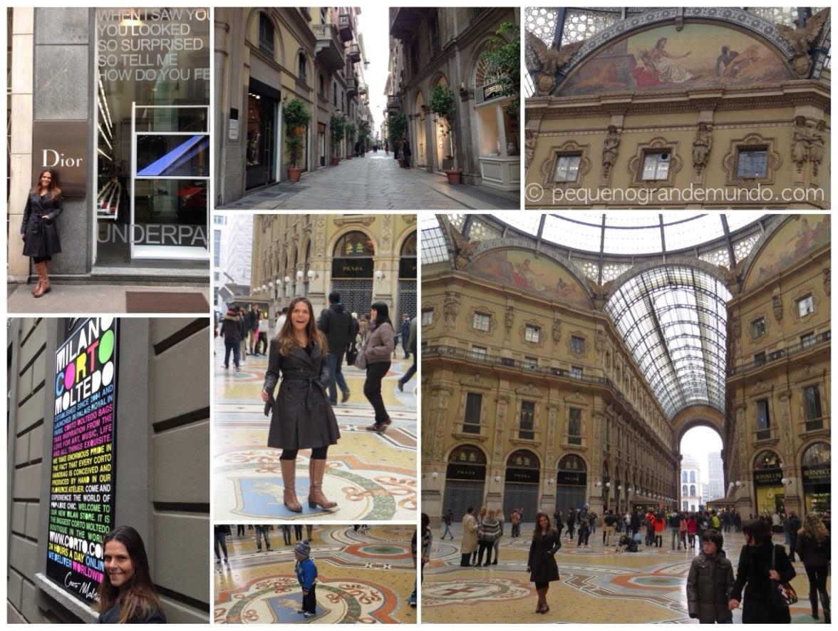 Quadrilátero da Moda e Galleria Vittorio Emanuele.