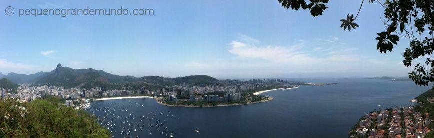 Praia de Botafogo e Aterro do Flamengo - vista do Morro da Urca