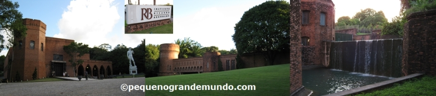 Instituto Brennand: complexo com 3 prédios, onde nos 2 ultimos estão o acervo do museu