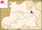 Localização de Manaus. Google