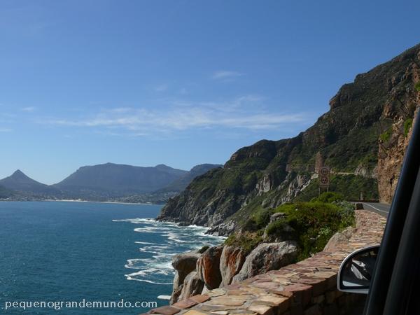Chapman's Peak Drive e sua incrível vista