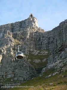 Bondinho para Table Mountain