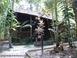 Amazon Eco Park, hotel de selva