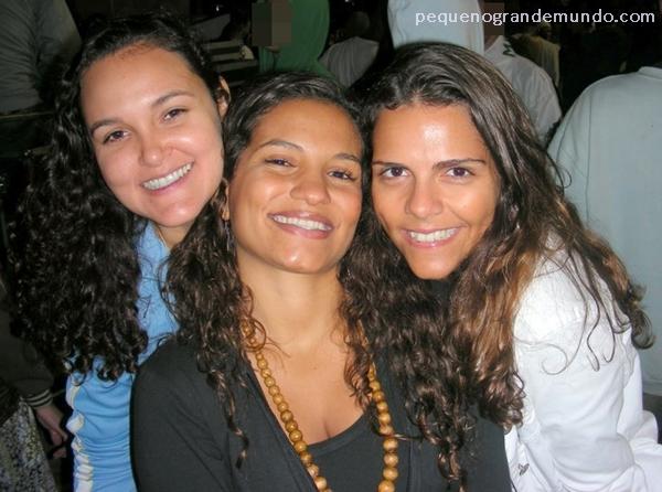 Cris, Maíta e Chirs, viajando juntas!