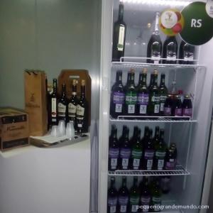 Vinhos gaúchos no estande Brasil Orgânico e Sustentável