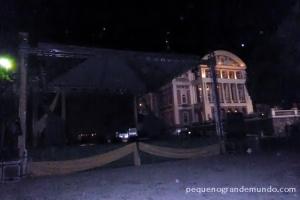 Largo São Sebastião, e o Teatro Amazonas