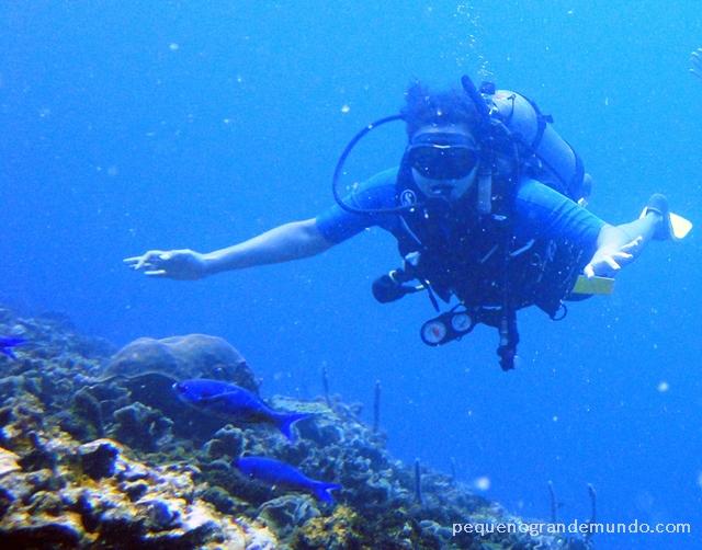 Mergulho nas Islas Rosario