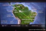 TV individual nos assentos: voando Copa Air