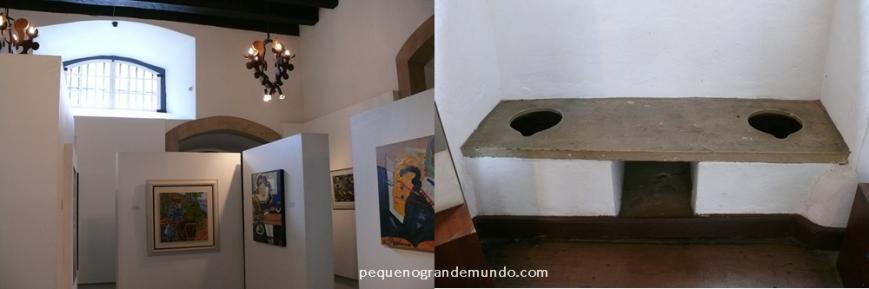 Casa dos Contos: prisão nobre de inconfidentes transformada em galerias e latrinas originais