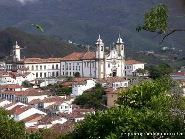 Ouro Preto vista da Igreja São Francisco de Paula