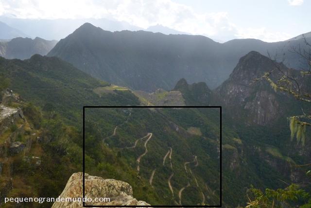 Aguas Calientes para Machu Picchu