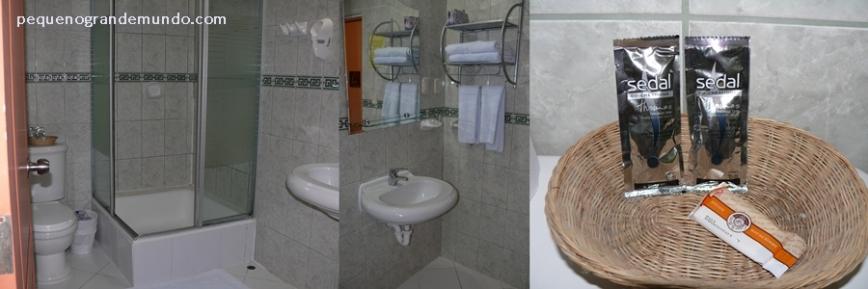 Banheiro e amenidades