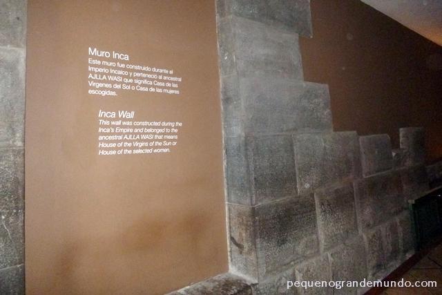 muro Inca dentro do Hotel Casa Andina