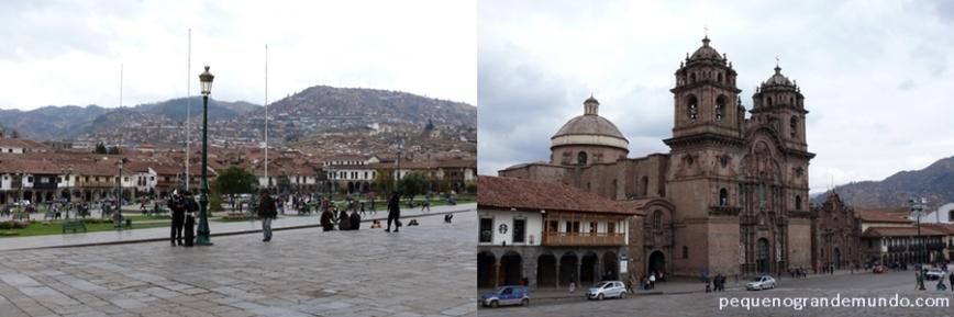 Plaza de Armas e Igreja