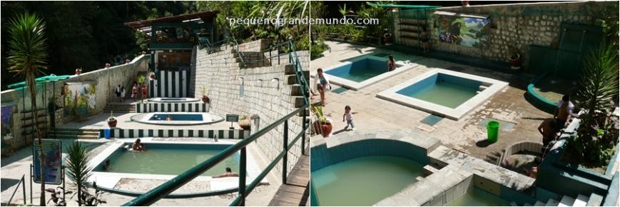Banhos termais Aguas Calientes
