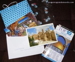Super presente da Luiza Portugal, do blog Receitas de Viagem.