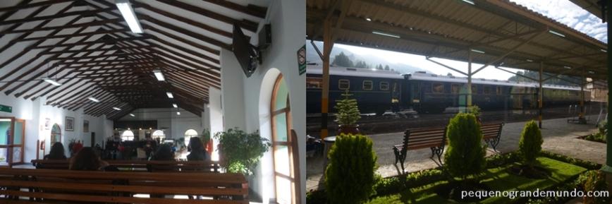 Estação da PeruRail em Poroy
