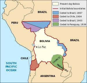Perdas territoriais da Bolivia