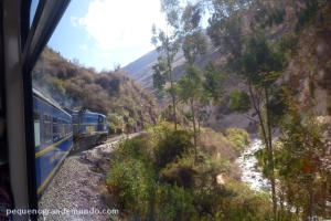 Paisagens incríveis a bordo do Peru Rail