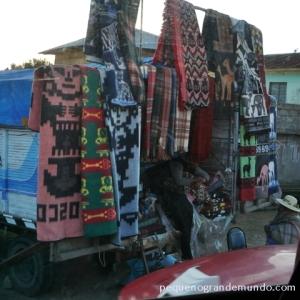 comercio, feira, fronteira Peru - Bolivia