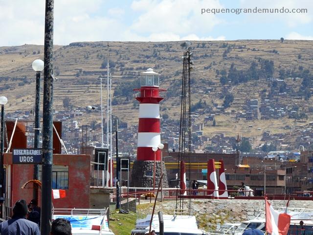 Farol, Porto de Puno