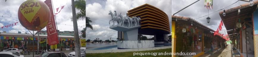 Campina Grande: Bar do Cuscuz, Escultura na beira da Lagoa e Vila do Artesão