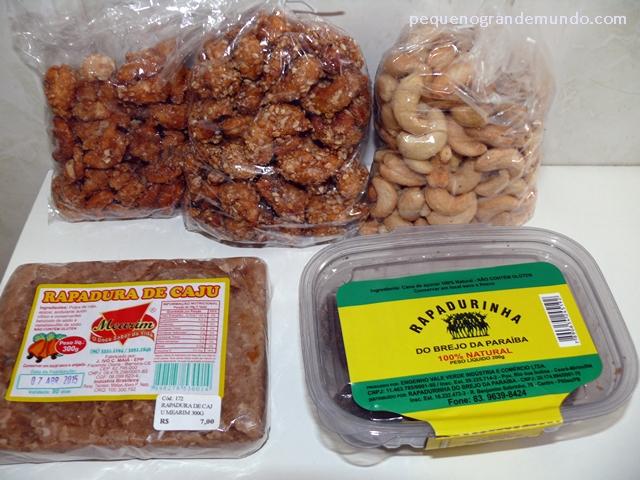 doces típicos da Paraíba