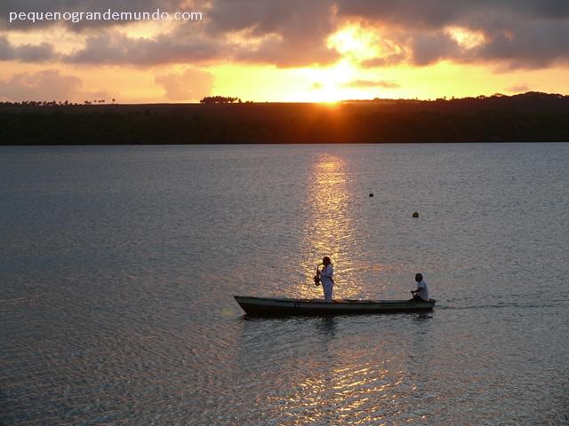 Pô-do-sol Praia do Jacaré