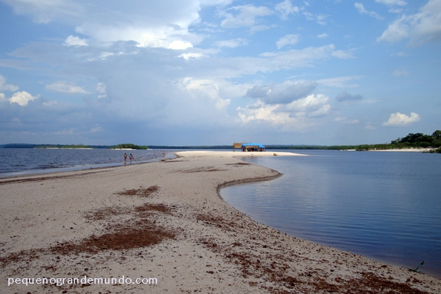 Praia Açutuba, Iranduba, Amazonas