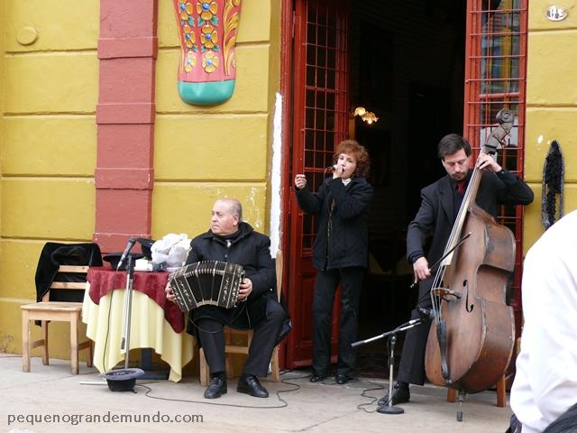 Tango no Caminito, Buenos Aires, Argentina
