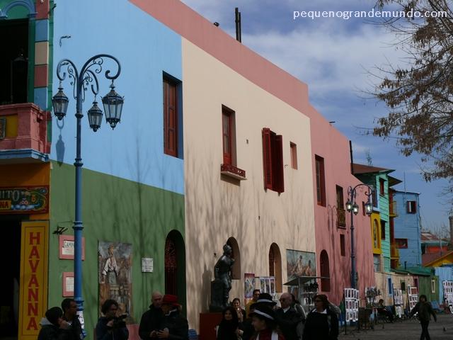 Cores no Caminito, Buenos Aires, Argentina