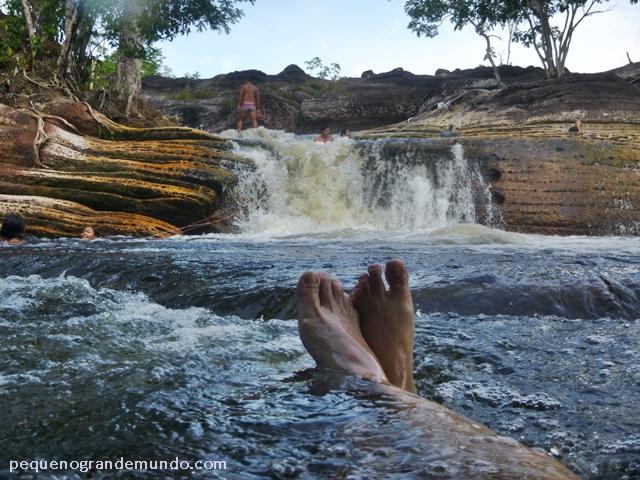 Cachoeira da Porteira, em Presidente Figueiredo
