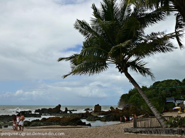 Praia de Tambaba, sul da Paraíba
