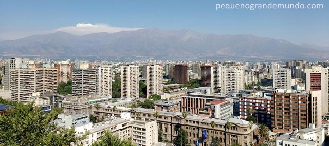 Santiago e Cordilheira dos Andes