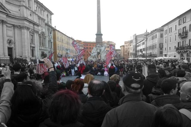 carnaval em Roma