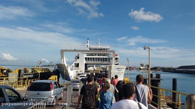 ferry boat Boipeba