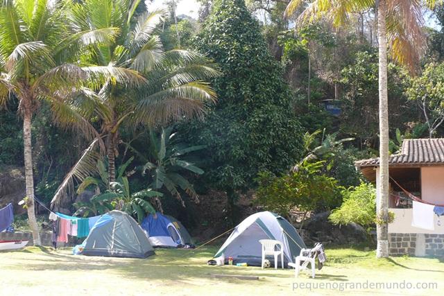 camping com conforto