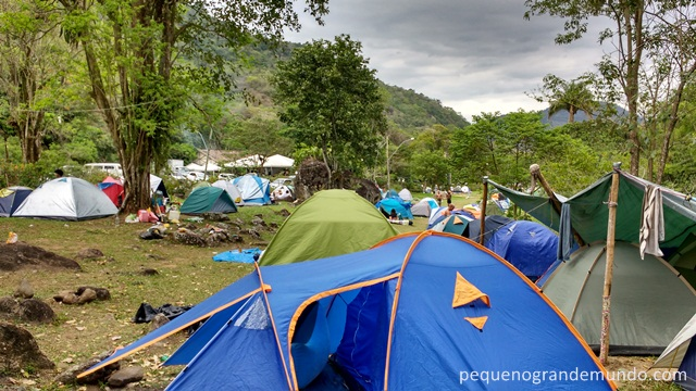 camping em galera