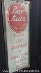 Bar Luiz, Rio
